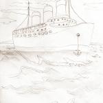 Pencil Ship